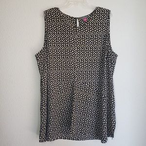 Vince Camuto womens plus size tunic tank top